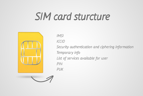 access iPhone sim card