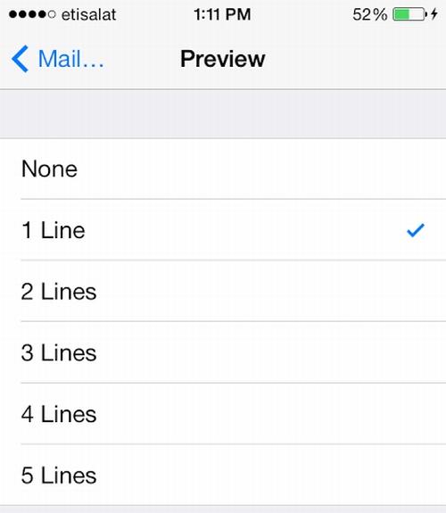 More Emails Per Screen