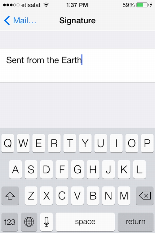 how to change the default fields for iphone contacts