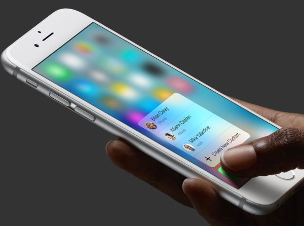 3D Touch iPhone 6s on Older iPhone Models Jailbreak Tweak