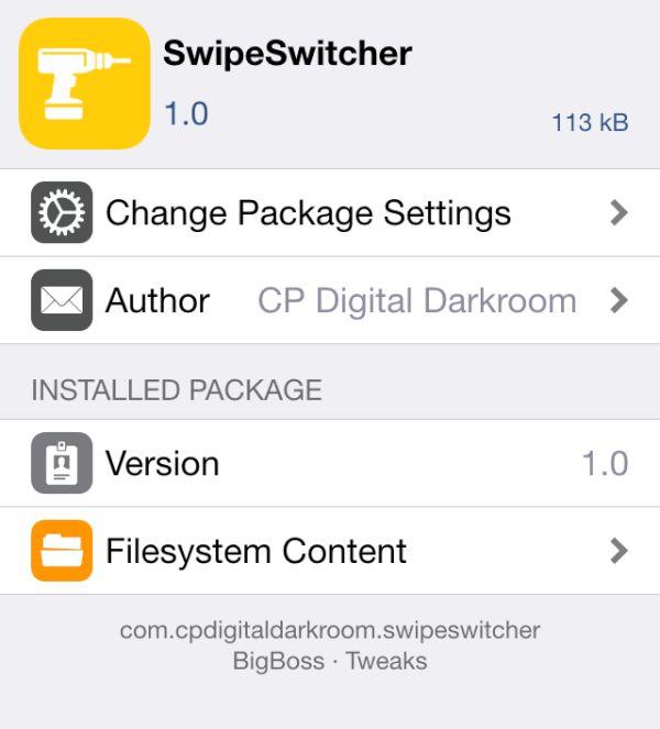 3d Touch Multitasking iPhone 5 iPhone 6 SwipeSwitcher Jailbreak Tweak