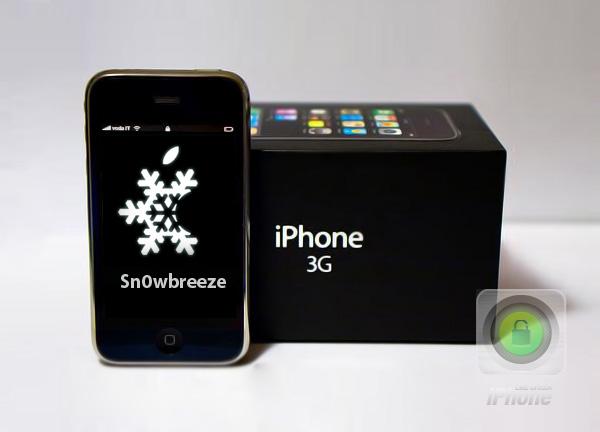 iPhone 3G iOS 3.1.3 Jailbreak sn0wbreeze