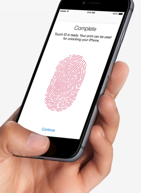 Set up your Touch ID