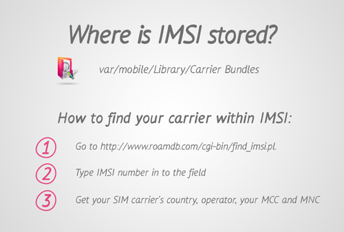 How to Find IMSI Number 4