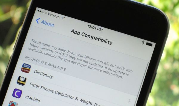 iOS 10.3 app compatibility instruction