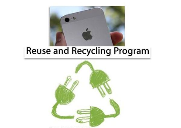 Apple Reuse Recycle Program for iPhone