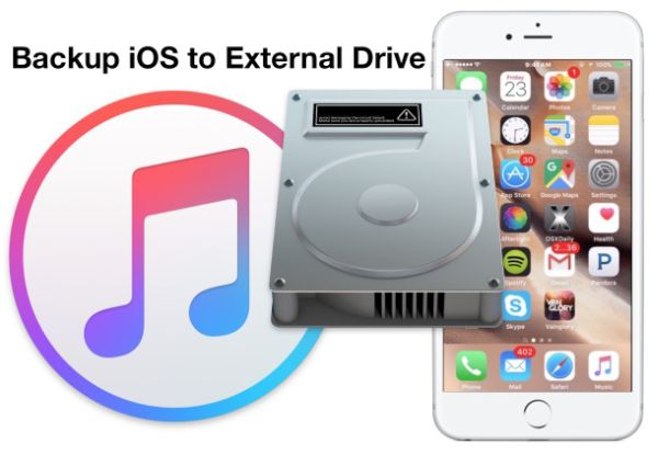 Backup iPhone to External Hard Drive iTunes Mac