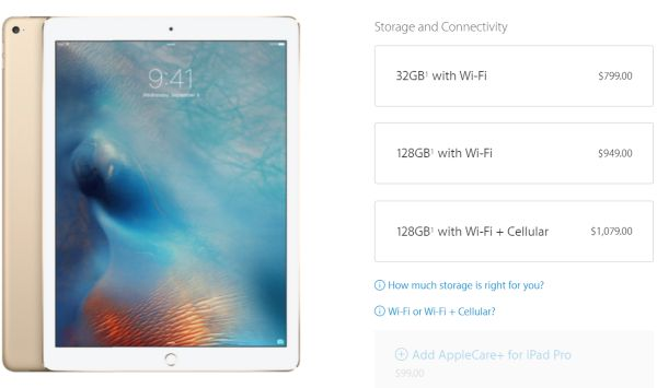 Buy iPad Pro Online USA Price