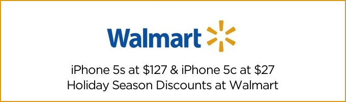 Buy iPhone 5c for $27 at Walmart