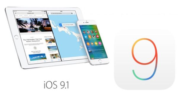Direct iOS 9.1 Download Links ipsw