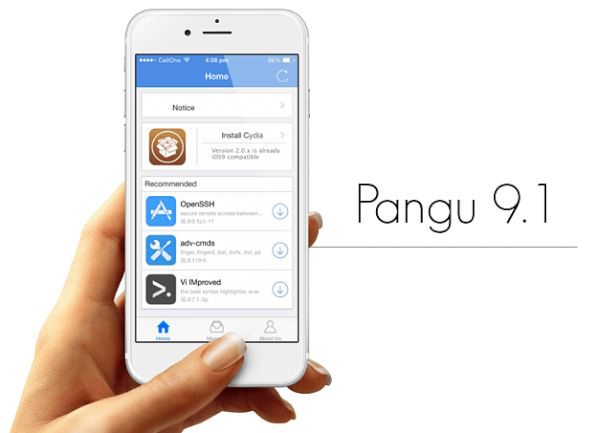 Download iOS 9.1 Pangu Jailbreak
