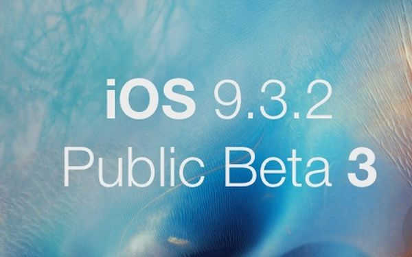 Download iOS 9.3.2 Beta 3 Public iPhone Version