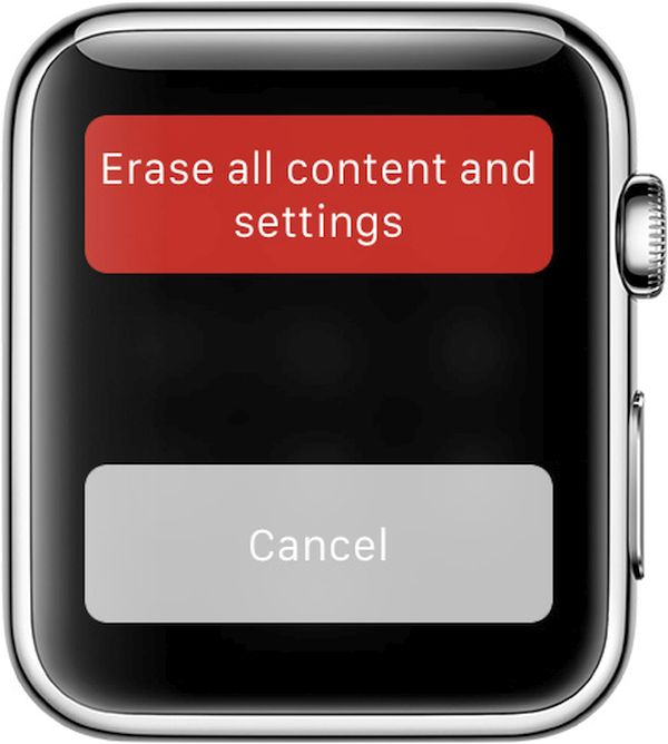 How to Erase Apple Watch to bypass password