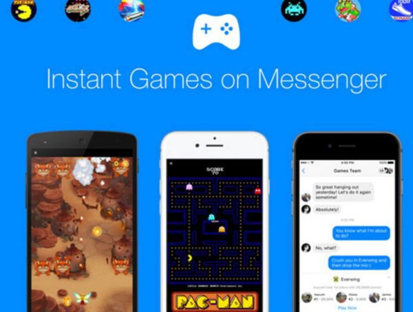 Facebook Instant Games on iOS 10