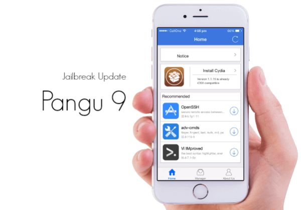 Fix iOS 9 Jailbreak iPhone Pangu