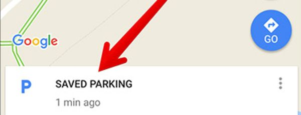 Saved Parking Location on iOS 10 iPhone