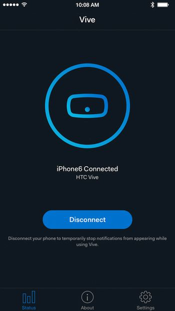 HTC Vive iPhone Virtual Reality Free App