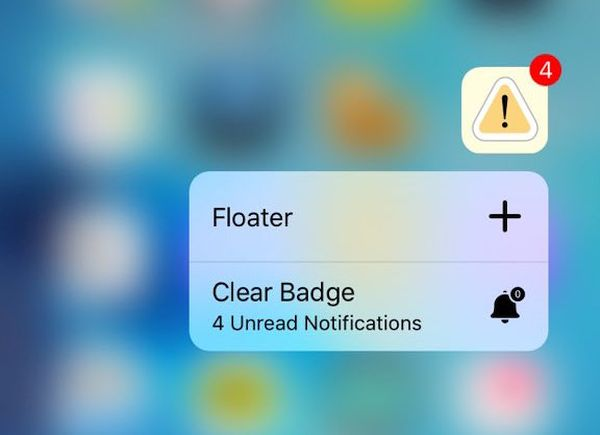 How to Clear iOS 9 App Badges on iPhone 3D Touch