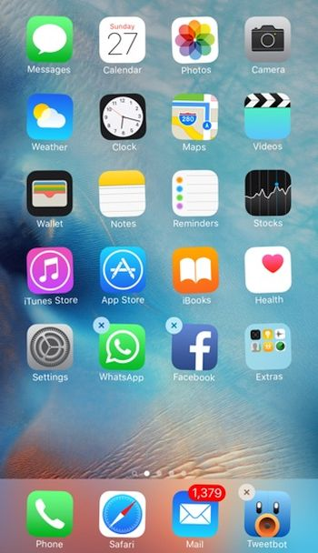 How to Delete or Move iOS 9 Apps on iPhone 6s