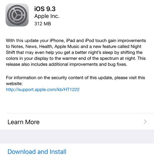 How to Install iOS 9 Direct ipsw Download Update Guide