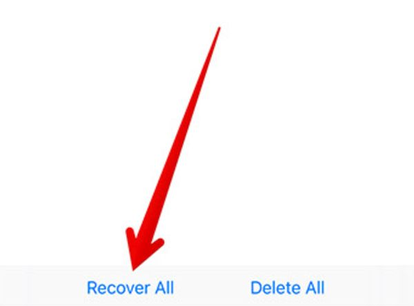 Recover Documents on iPhone or iPad