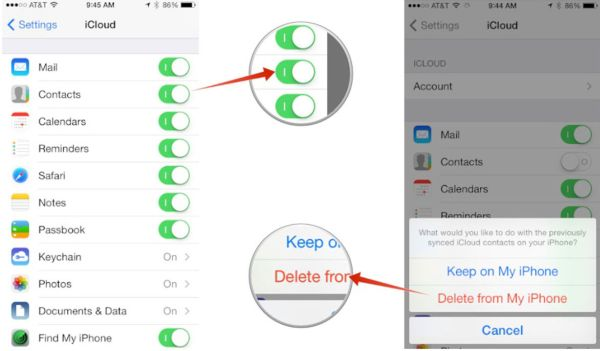 How to Delete iCloud Contacts iOS 10 iPhone