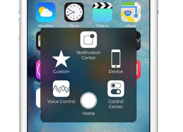 How to Use Assistive Touch on iPhone 7 iOS 10