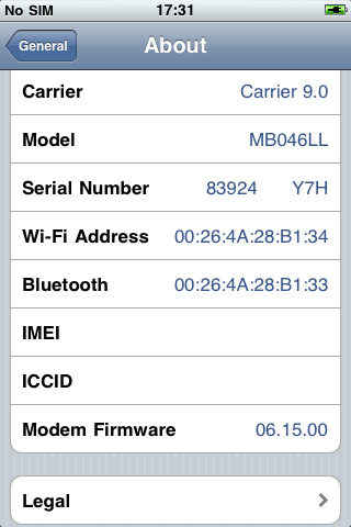 decode iPhone serial number