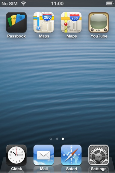 get YouTube icon and Google maps on iOS 6