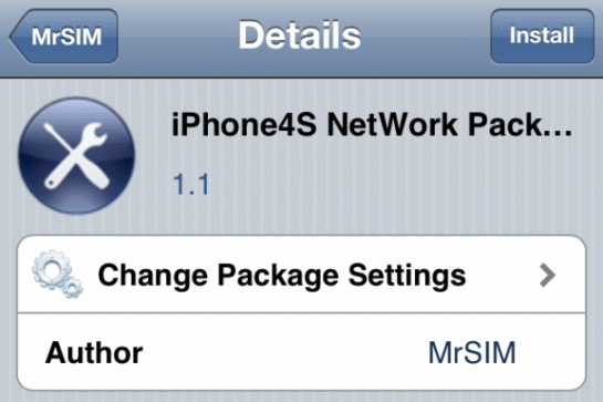 R-Sim 3 iOS 5.1.1 iPhone 4S