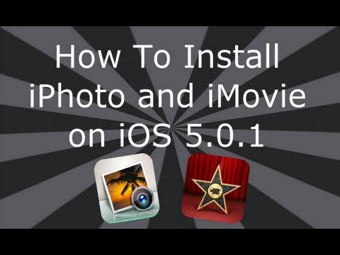 Install iPhoto On iOS 5.0.1