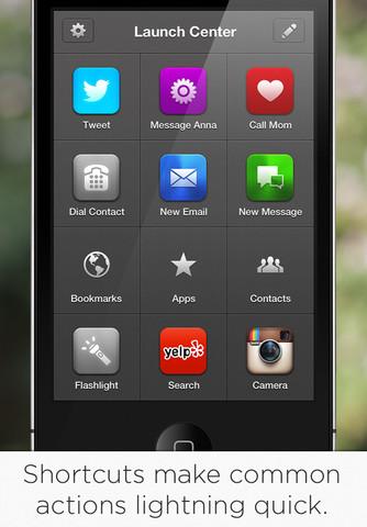 Launch Center Pro App