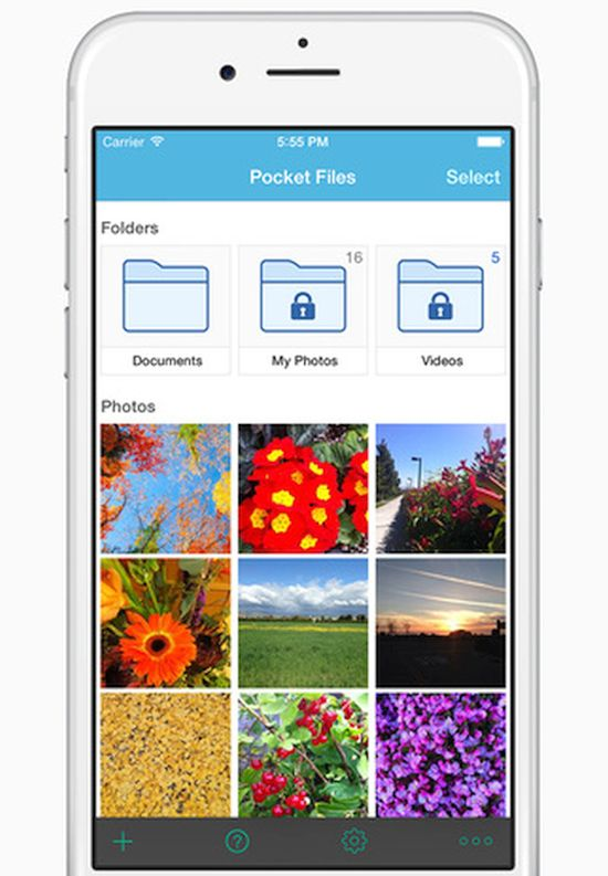 Lock iPhone Photos and Files iOS 9