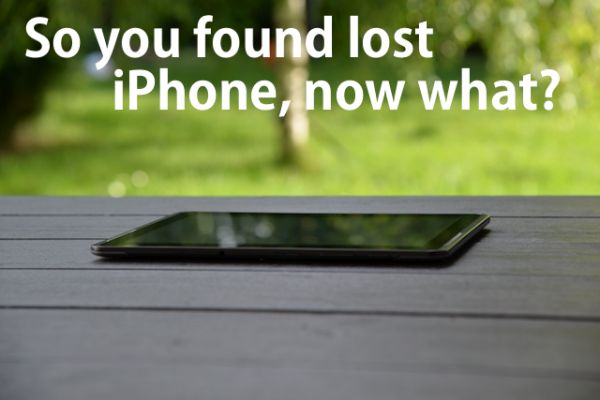 Lost iPhone Now What to Do If You Find Lost Apple Locked iPhone