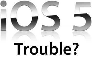Gevey sim unlock iOS 5 troubleshooting