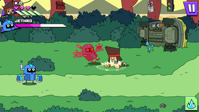 OK K.O. Free iOS 9 iPhone Game