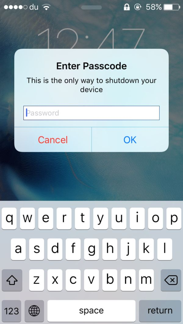 Protect iPhone from Theft Jailbreak Tweak iOS 9