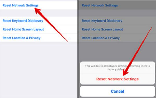 How to Reset Network on your iPhone to fix iCloud syncing problem