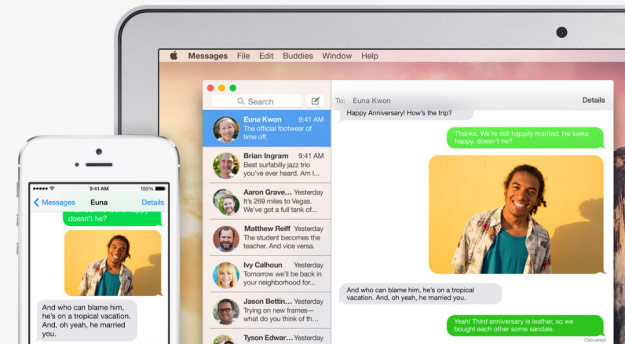 SMS and Phone calls on iPad and Mac