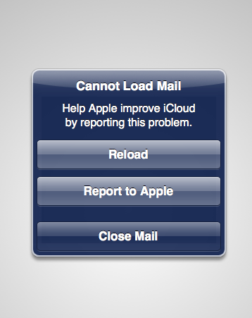 iCloud Mail Server Issues