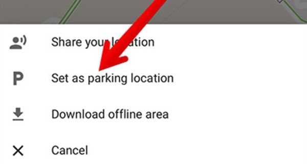 How to Save Parked Car Location
