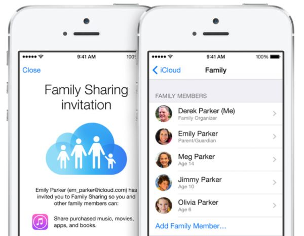 iOS 11 Changes iCloud Family Sharing Plan