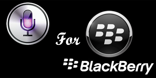 BlackBerry Siri Alternative