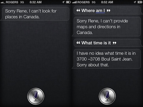 Siri is Updated for Canadian Users