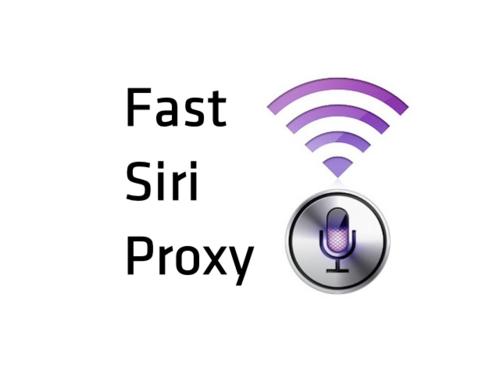 Siri proxy server