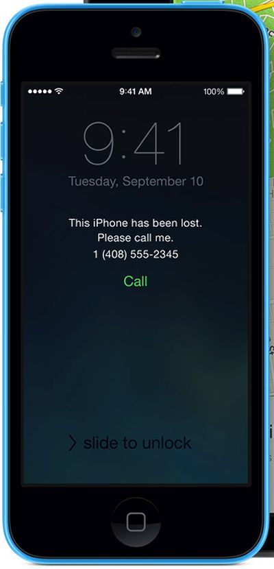 This iPhone Has Been Lost Please Call Message Lost Mode iCloud