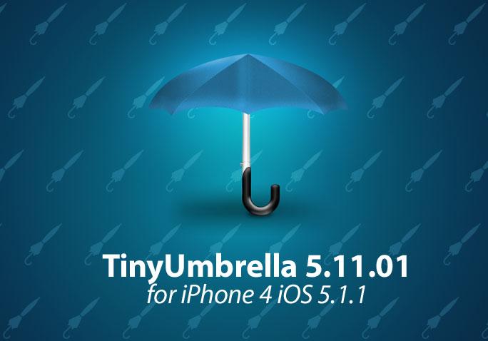 TinyUmbrella 5 11 01 With iPhone 4 iOS 5 1 1 (+Downolad