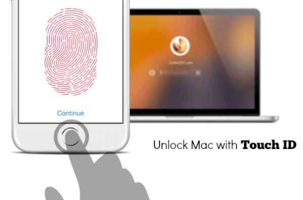 Unlock Mac with iPhone Touch ID