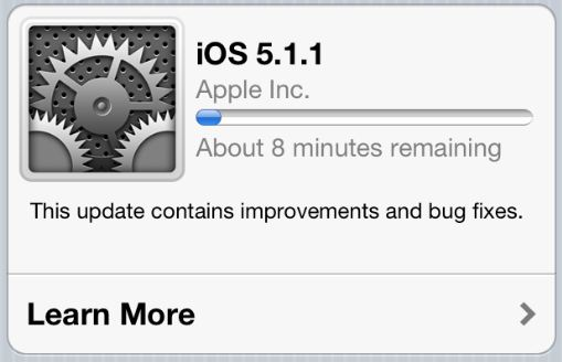 Update Your iPhone To iOS 5.1.1 Without Updating Baseband