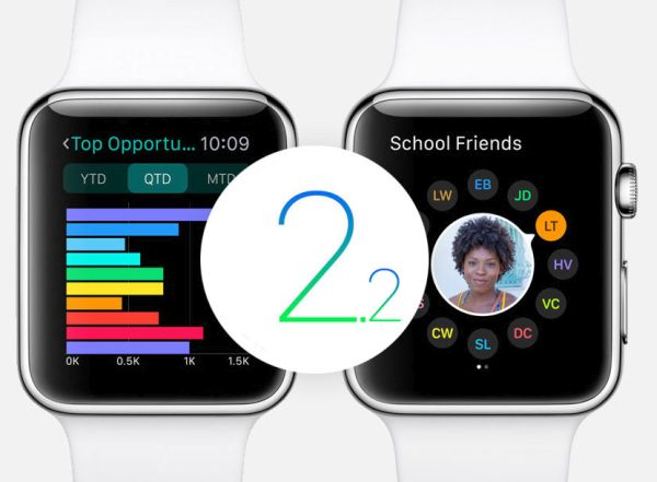 WatchOS 2.2 Beta 3 Release